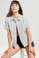 Stussy Eva Printed Corduroy Button-Down Shirt