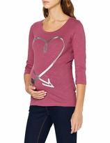 Mamalicious Womens Mlirena Nell S//L Jersey Top Nf A T-Shirt