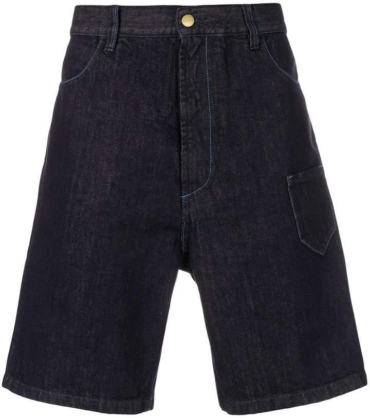Marni oversized denim shorts