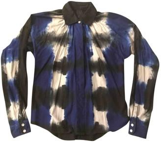 Bernhard Willhelm Blue Cotton Top for Women