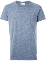 Closed round neck marled T-shirt
