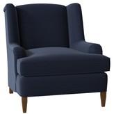 Savanah Armchair Duralee Furniture Body Fabric: Adley Navy