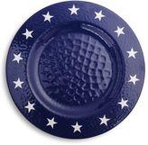 Sur La Table Stars and Stripes Melamine Dinner Plate