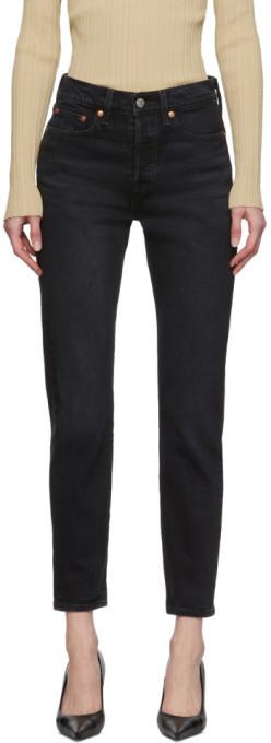 Levi's Levis Black Wedgie Icon Fit Jeans