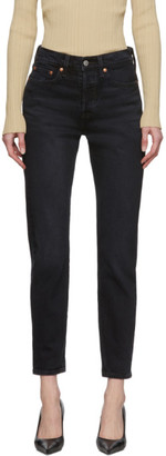 Levi's Levis Black Wedgie Icon Fit Jeans