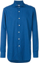 Kiton checked shirt - men - Cotton - 39