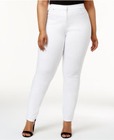 Alfani Plus Size Skinny Ankle Jeans, Created for Macy's