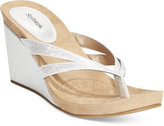 Style&Co. Style & Co. Cassiee Wedge Sandals, Only at Macy's