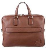 Gucci GG Leather Briefcase