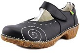 El Naturalista N095 Round Toe Leather Mary Janes.