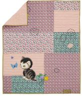 Shy Little Kitten Baby Quilt