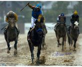 """Steiner Sports Victor Espinoza Signed 2015 Preakness 16"""" x 20"""" Photo"""