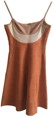Herve Leger Orange Dress for Women