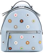 Fendi Mini Backpack with Flowers