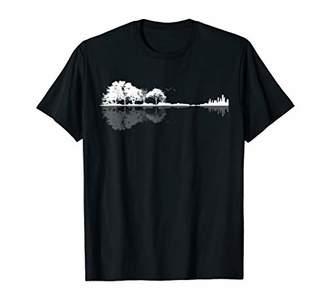 Nature Guitar T Shirt Design