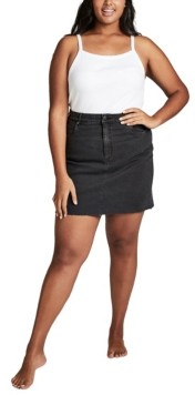 Cotton On Curve Denim Skirt
