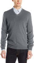 Calvin Klein Men's Cotton Modal V-Neck Sweater