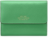 Smythson Panama Small Saffiano Leather Coin Purse