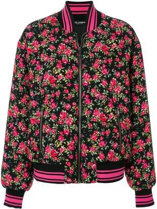 Dolce & Gabbana floral bomber jacket