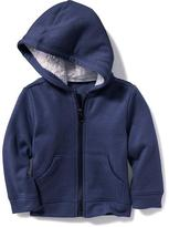 Old Navy Sherpa-Lined Fleece Hoodie for Baby