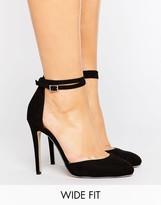 Asos PLAYDATE Wide Fit High Heels