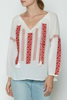 Joie Breccia Embroidered Top