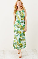 J. Jill Printed Layered Maxi Dress