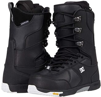 DC The Laced Boot (Black) Men's Boots