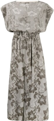Comme Des Garçons Pre Owned 1996 Floral Jacquard Dress