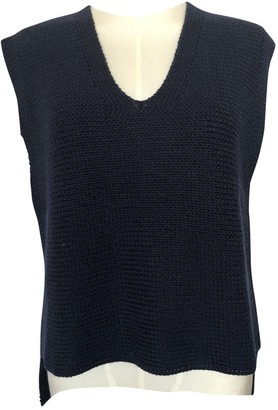 3.1 Phillip Lim Navy Cotton Knitwear for Women