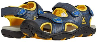 Kamik Seaturtle 2 (Toddler/Little Kid/Big Kid) (Navy Ctrus) Boy's Shoes