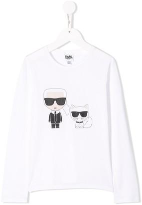 Karl Lagerfeld Paris & Choupette T-shirt