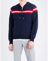 Bally Triple-striped wool hoody
