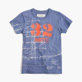 J.Crew Boys' glow-in-the-dark ship blueprint T-shirt
