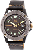 Reign Men's Emery Stainless Steel Gunmetal Dial Watch, 40mm