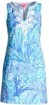 Lilly Pulitzer Harper Print Sleeveless Mini Dress