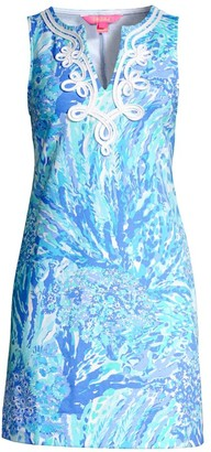 Lilly Pulitzer Harper Print Sleeveless Mini Dress