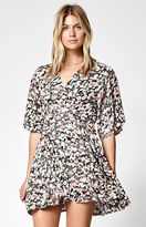 Billabong Dolly Printed Wrap Dress