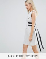 Asos Double Layer Dress With Strap Detail