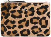 No.21 animal pattern clutch