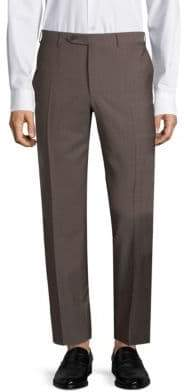 Canali Heathered Dress Pants