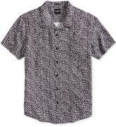 GUESS Men's Circle Print Shirt