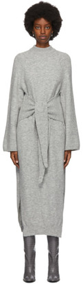 Nanushka SSENSE Exclusive Grey Ianthe Long Dress
