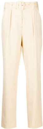 ENVELOPE1976 Belted Straight Leg Trousers
