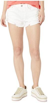 Free People Loving Good Vibrations Shorts (Ivory) Women's Shorts