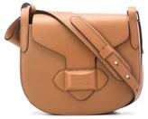 Michael Kors Daria Medium Crossbody Saddle Bag in Luggage