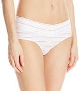 Warner's Women's No Pinching No Problems Cotton with Lace Hipster