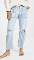 Thumbnail for your product : One Teaspoon Shabbies Drawstring Boyfriend Jeans