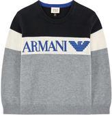 Armani Junior Wool blend sweater