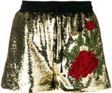 Philipp Plein sequinned shorts